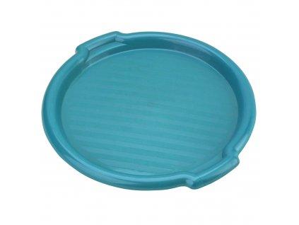 Plastový tác Clever Blue 35,5 x 3 cm DOMOTTI