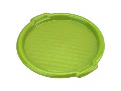 Plastový tác Clever Green 35,5 x 3 cm DOMOTTI