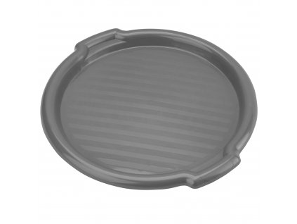Plastový tác Clever Gray 35,5 x 3 cm DOMOTTI