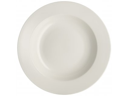 Porcelánový hluboký talíř Aura White 23 cm AMBITION