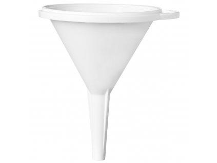 Klasický bílý trychtýř 12 cm PLAST TEAM