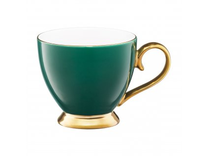 Porcelánový hrnek Royal Green-Gold 450 ml AMBITION