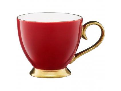 Porcelánový hrnek Royal Red-Gold 450 ml AMBITION