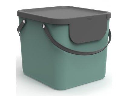 Odpadkový koš na tříděný odpad Albula Green 40 l ROTHO