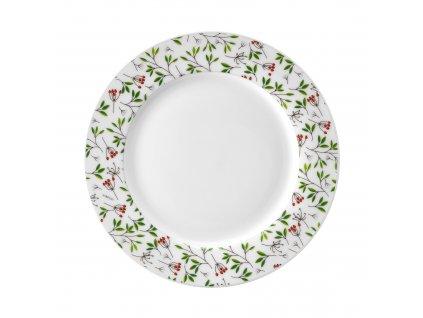 Porcelánový dezertní talíř Pine 19 cm AMBITION
