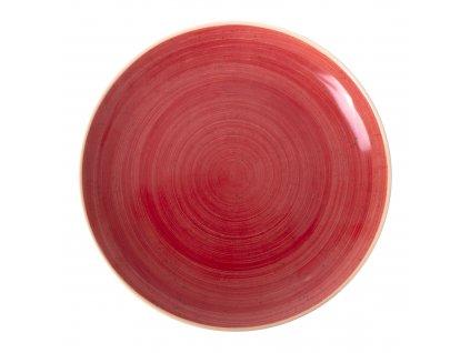 Porcelánový servírovací talíř Terra Red 29 cm ARIANE