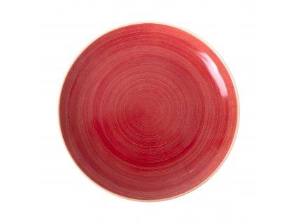 Porcelánový dezertní talíř Terra Red 18 cm ARIANE