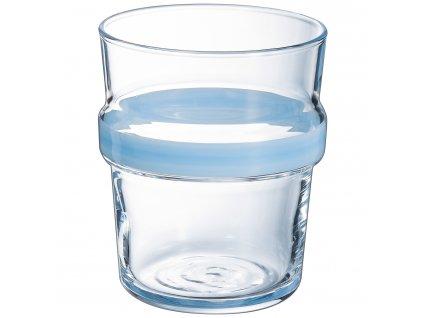 Nízká sklenička Stereo Light Blue 270 ml LUMINARC