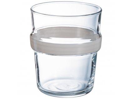 Nízká sklenička Stereo Granit 270 ml LUMINARC