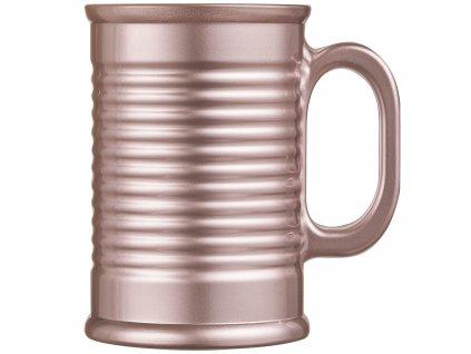 Skleněný hrnek Conserve Moi Metalic-Pink 320 ml LUMINARC