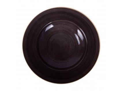 Porcelánový hluboký talíř Terra Mokka 30 cm ARIANE