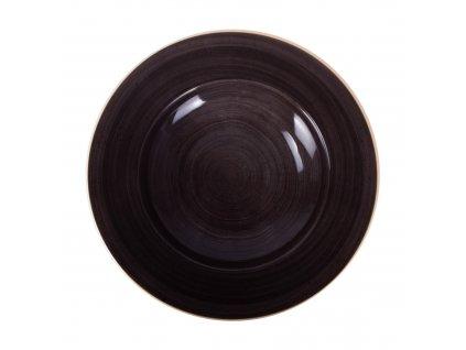 Porcelánový hluboký talíř Terra Mokka 26 cm ARIANE