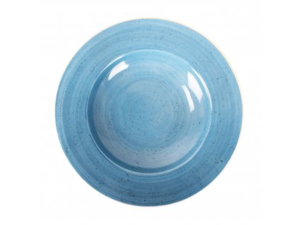 Porcelánový hluboký talíř Terra Blue 30 cm ARIANE