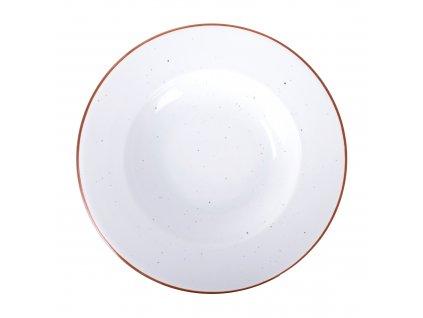 Porcelánový hluboký talíř Terra Arena White 30 cm ARIANE