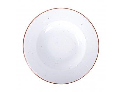 Porcelánový hluboký talíř Terra Arena White 26 cm ARIANE