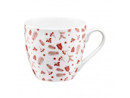 Porcelánový hrnek Pine Red 510 ml AMBITION