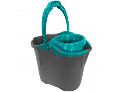 Vědro na ždímání mopu Cubio Turquoise 14 l JOTTA
