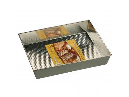 Plech na pečení se strukturovaným dnem 35 x 28 x 6 cm SNB