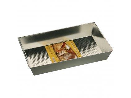 Plech na pečení se strukturovaným dnem 39 x 23,5 x 6 cm SNB