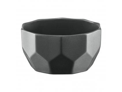 Porcelánová salátová mísa Diamond Gray 13 cm AMBITION