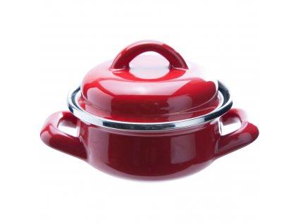 Červený hrnec na tapas 300 ml COSY & TRENDY