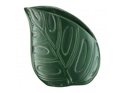Keramická váza Leaf 15,5 x 10 x 16,5 cm MY HOME