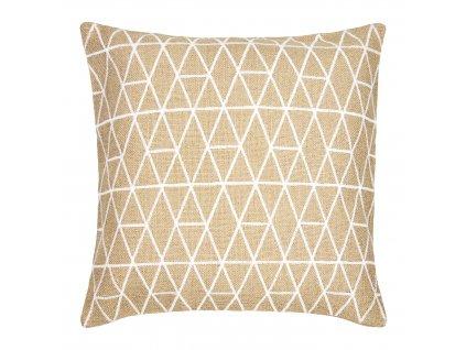 Dekorativní povlak na polštář Jute Honeycomb I 42 x 42 cm MY HOME