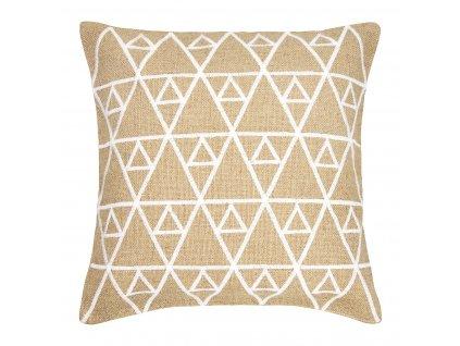 Dekorativní povlak na polštář Jute Honeycomb 42 x 42 cm MY HOME