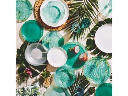 Dezertní talíř Arty Mint Green 20,5 cm LUMINARC