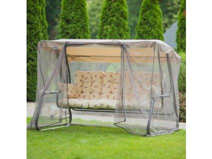 Zahradní houpačka s moskytiérou Celebes Plus A040-05LB PATIO
