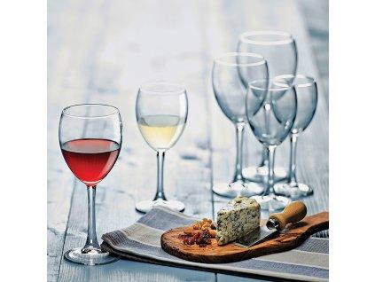 Sada 3 sklenic na víno Imperial 350 ml PASABAHCE