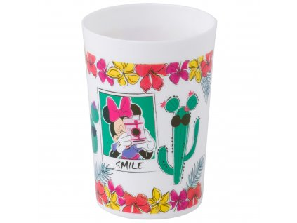 Plastová sklenička Minnie Cactus 225 ml DISNEY
