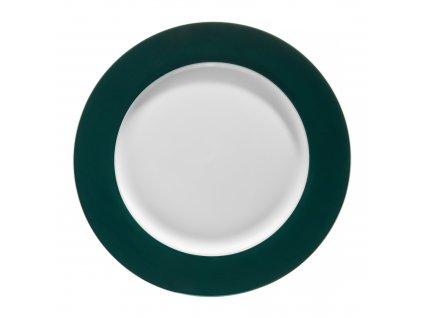 Mělký talíř Aura Green 27 cm AMBITION