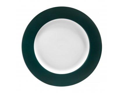 Dezertní talíř Aura Green 19 cm AMBITION