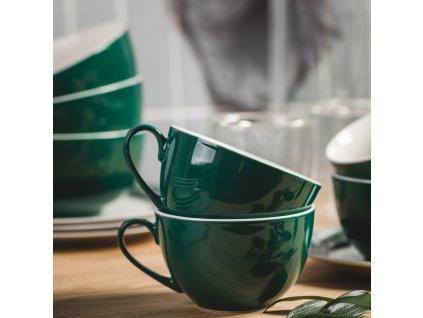 Porcelánový šálek Aura Green 220 ml AMBITION