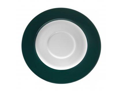 Porcelánový podšálek Aura Green 15,5 cm AMBITION