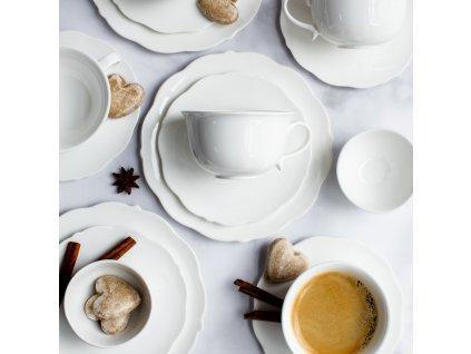 Dezertní a kávová souprava Grace 19-dílů AMBITION