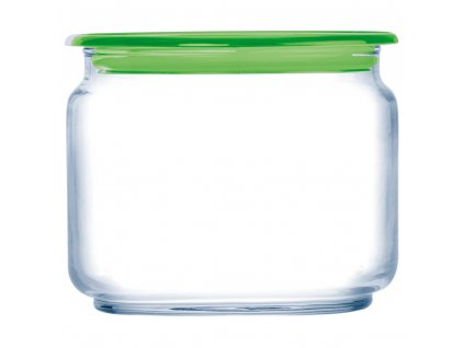Skleněná nádobka s víčkem Plano Green 500 ml LUMINARC
