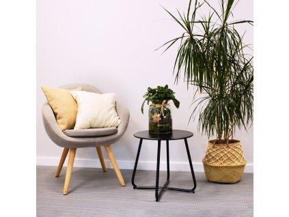 Zahradní stolek Florian Black 45 cm PATIO