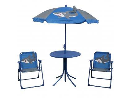 Souprava dětského zahradního nábytku Žralok PATIO