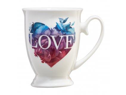 Porcelánový hrnek Love Letters Colour Heart 350 ml AMBITION