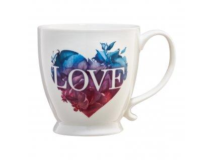 Porcelánový hrnek Love Letters Colour Heart 480 ml AMBITION