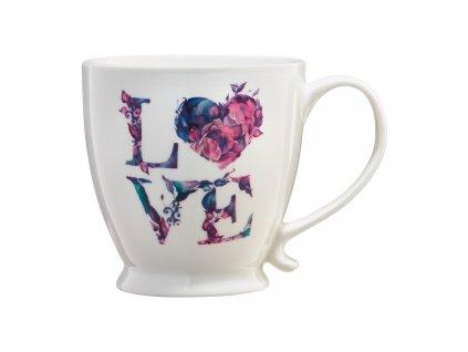 Porcelánový hrnek Love Letters 480 ml AMBITION