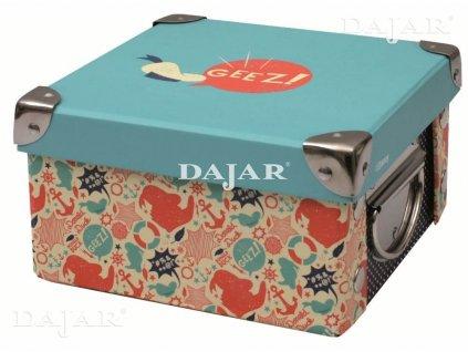 Malá lepenková krabice Mickey Classic 16,5 x 16,5 x 9 cm DISNEY