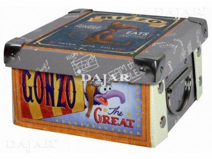 Malá lepenková krabice The Muppet Show 16,5 x 16,5 x 9 cm DISNEY