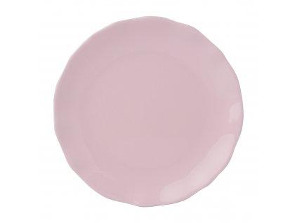 Mělký talíř Diana Rustic Pink 27 cm AMBITION