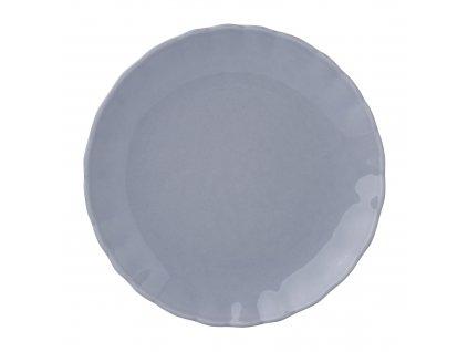 Mělký talíř Diana Rustic Gray 27 cm AMBITION