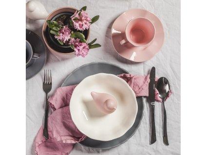 Hluboký talíř / salátová mísa Diana Rustic Cream 19 cm AMBITION