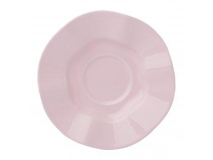 Keramický podšálek Diana Rustic Pink 11 cm AMBITION