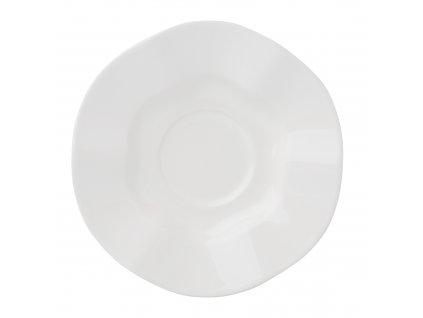 Keramický podšálek Diana Rustic Cream 11 cm AMBITION